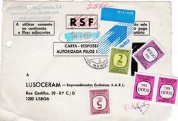 PORTUGAL -LUSOCERAM - MULTA 147$00-SÓ FRENTE - Unclassified