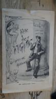 SUPERBE : CHALONS SUR MARNE , ARTS ET METIERS, Programme Musical Des FIGNOS De 1906  ......... Prog-2 - Programas