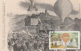 Carte Maximum - FRANCE - N° Yvert: PA 84 (Ballons Montés) Oblit. Sp. Illustrée 1er Jour 5/11/2020 - Ed. G.C.A Paris - 2010-...