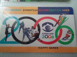 SLOVAKIA  USED CARDS   SPORTS OLYMPIC GAMES - Slovakia