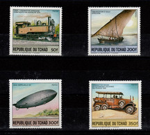 Tchad - YV 450 à 453 N** Complete Moyens De Transports - Ciad (1960-...)