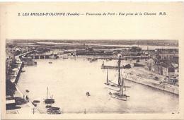 CPA - Les Sables D'Olonne - Panorama Du Port , Vue Prise De La Chaume - Sables D'Olonne
