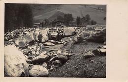 KAPRUN AUSTRIA 1932 POSTMARK~WELL DRESSED MEN AMONG ROCKS~PHOTO POSTCARD 51199 - Kaprun