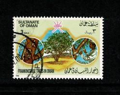 Ref 1446 - 1985 Oman - 3r Frankincense Trees - Used Stamp - SG 321 - Oman