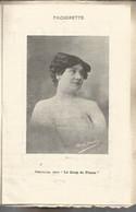 Bb // Vintage Old  Theater Program // Programme Théâtre Le Coup De PISTON // Bloch Paquerette Parisel Feider - Programmi