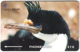 FALKLAND ISLANDS A-165 Magnetic Cable&Wireless - Animal, Bird - 314CFKA - Used - Falklandeilanden