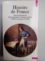 Histoire De France - Jean Carpentier, François Lebrun/ Points, 1996 - Geschichte
