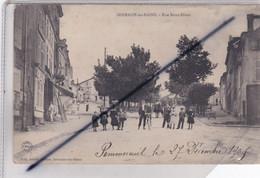 Sermaize Les Bains (51)  Rue De Saint Dizier ,(importante Animation) - Sermaize-les-Bains