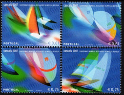 Portugal - 2007 - World Olympic Class Yachting Cup In Cascais - Mint Stamp Set - Unused Stamps