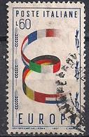 ITALIE - YT N° 745 - Oblitéré - 1957