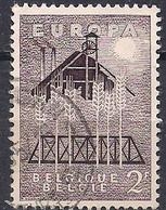 BELGIQUE - YT N° 1025 - Oblitéré - 1957