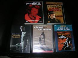 Lot De 5 Dvd Clint Eastwood - Collections & Sets