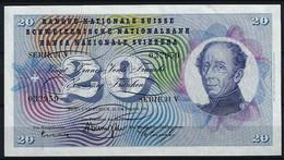 # # # Banknote Schweiz (Switzerland) 20 Franken 1951 UNC # # # - Switzerland