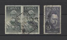 ESPAGNE.  YT   PA N° 155  Obl  1953 - Usados