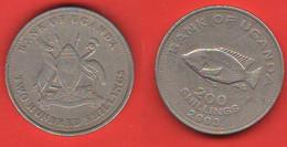 Uganda 200 Shillings 2003 FAO - Uganda