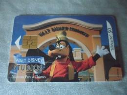 """Telecarte France Telecom """" Walt Disney Studios  """"50 Unites - Unclassified"""