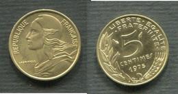 5 CENTIMES 1975 FLEUR DE COIN - C. 5 Centesimi