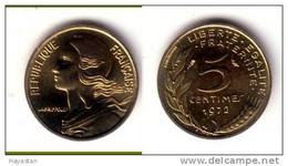 5 CENTIMES 1972 FDC - C. 5 Centesimi