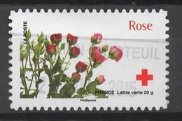 FRANCE 2014 Oblitéré :  La Croix-Rouge Française - KlebeBriefmarken