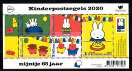 Nederland 2020 Nvph Nr ??, Mi Nr ??, Kinderpostzegels, 65 Jaar Nijntje , Miffy, Usakochan, Postfris, - Nuevos