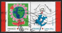 FRANCE 2006  -  Y&T 3991 Et 3992   -  Dessine Ton Voeux -   Oblitérés - Gebruikt