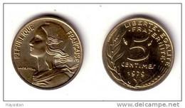 5 CENTIMES 1979 SPLENDIDE - C. 5 Centesimi