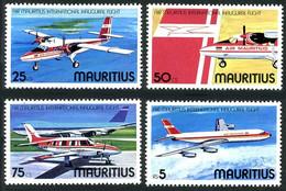 Maurice Mauritius 1977 International Inaugural Flights Vols Inauguraux DHC Twin Otter, Piper Navajo, Boeing 707 - Airplanes