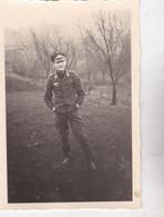 Photo France Orne Argentan  Aout 1940 WW2 Luftwaffe Unteroffizier Peter Öhlms  Ref 2743 B - Guerra, Militari