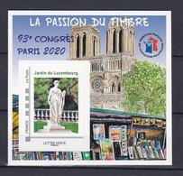 Timbre Lettre Verte Autoadhésif Neuf ** 93ème Congrès FFAP Paris - Sellos Autoadhesivos