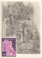 Carte Maximum -  Fresque Du XIe Siècle - Cartas