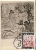 Carte Maximum -  Fresque Du XIe Siècle - 1er Jour - Cartas