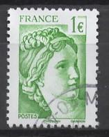 FRANCE MARIANNE  - Oblitéré Cachet Rond - Gebraucht