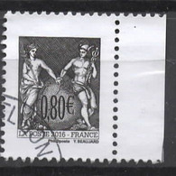 FRANCE  - Oblitéré Cachet Rond - Gebraucht
