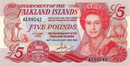 ILES FALKLAND 1983 5 Pound - P.12a  Neuf UNC - Falkland Islands