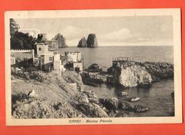 ZHD-31 Capri, Al Bordo Del Mare. Viaggiatta Da Napolo In 1934 Per La Svizzera.  Orrico 7-0113 - Altre Città