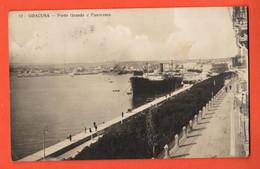 ZHD-32 Siracusa   Porto Grande E Panorama. Viaggiatta Per La Svizzera In 1927, Con Bollo Di 75 C. - Siracusa