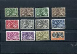 NYASSALAND. 1938 MH/MNH. - Nyassaland (1907-1953)