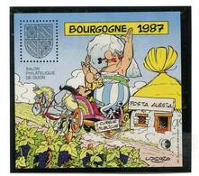 Astérix Bloc CNEP N°8 1987 BOURGOGNE.Salon Philathélique De DIJON - Souvenir Blocks