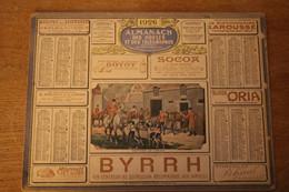 Calendrier  1926 Almanach  Des Postes Et Télégrammes  Pub BYRRH    Paris Publicités - Altri