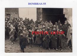 DOMBRAS-Prisonniers De Fosse Wald-Fevrier 1916-CARTE PHOTO Allemande-Guerre 14-18-1 WK-FRANCE-55-Militaria- - Other Municipalities