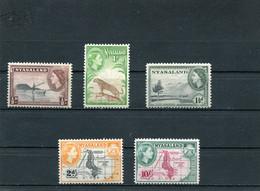 NYASSALAND. 1953/54 MNH. - Nyassaland (1907-1953)