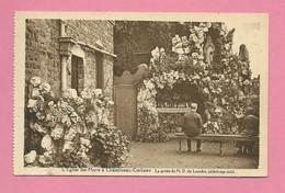 C.P. Châtelineau-Corbeau =  L ' Eglise  Ste.  Marie   Le Grotte De N.D. De  LOURDES - Chatelet
