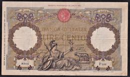 ITALIA REGNO BANCA D'ITALIA L.100 DECR. MIN. 12 GENNAIO 1935 - 5 OTTOBRE 1931 ANNO IX  OTTIME CONDIZIONI - 100 Lire