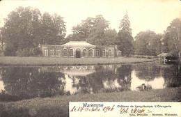 Waremme - Château De Longchamps - L'Orangerie (Nels Moureau 1904) - Waremme