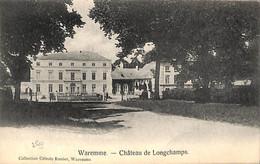 Waremme - Château De Longchamps (Collection Céleste Renier 1911) - Waremme