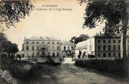 Waremme - Château De Longchamps (Edit Jeanne 1920...défauts Cachés Dans Coin Inférieur) - Waremme
