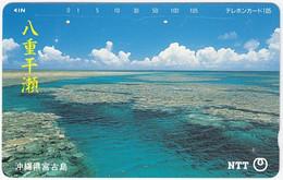 JAPAN O-293 Magnetic NTT [391-269] - Landscape, Coast - Used - Japón