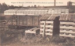 21-1545 : CABANAC-VILLAGRAINS. CLUZANT ET CIE. HOURDIS. LATARM. MACON. MACONNERIE. BETON ARME. WAGONS - Other Municipalities