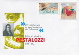 01720) BRD - USo ? - ✶ 25 Neben 55 C    Johann Heinrich Pestalozzi, Ausgabe: 07.01.2021 - Sobres - Nuevos