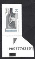 Italia 2016; Piazze D' Italia B = Piazza Della Repubblica A Roma : Codice Alfanumerico PB - Bar Codes